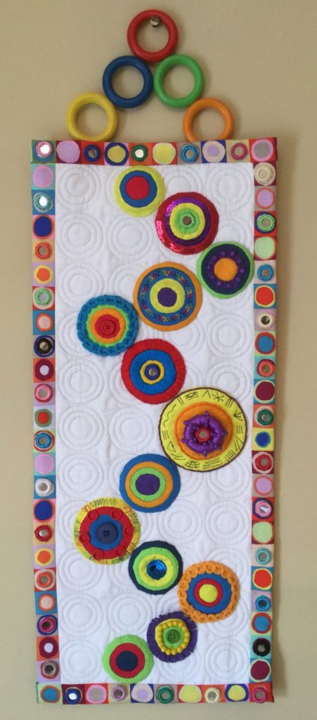 Samantha Neeve Quilted Wall Hanging