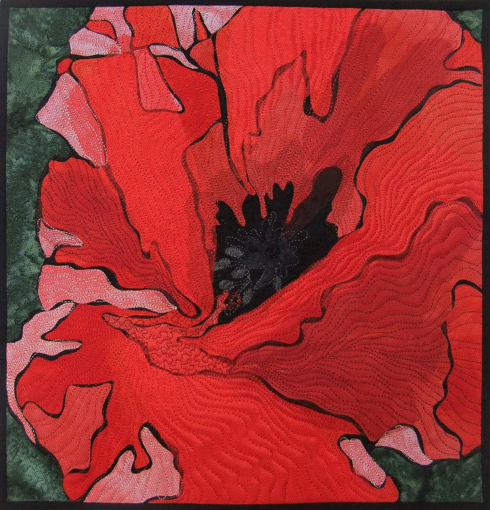 9. 'Red Poppy'-Deborah Wirsu