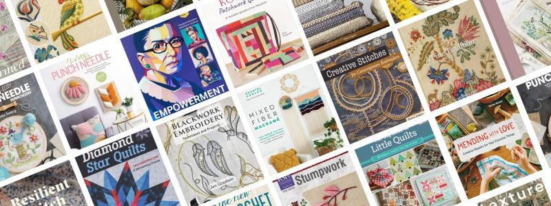 24 of the Latest Textile Books for Stitch Enthusiasts