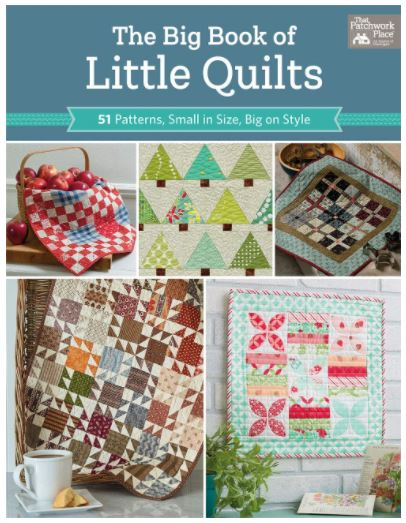 Big book of the little quilts front cover