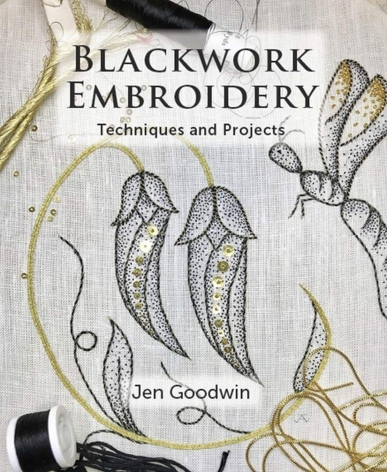 Blackwork Embroidery: 24 of the latest textiles book releases