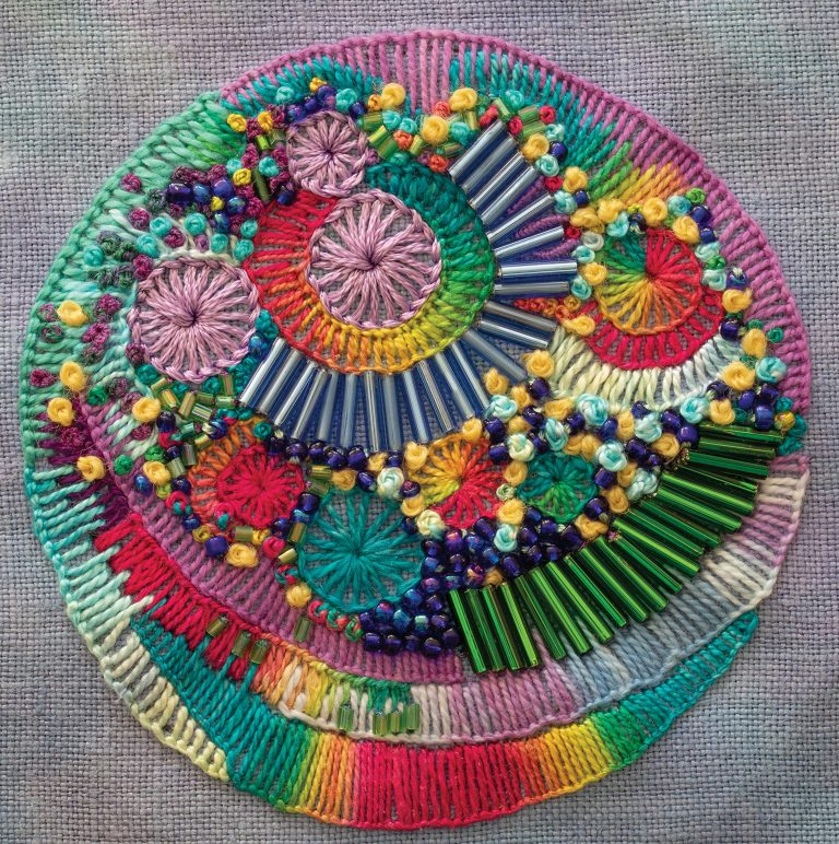 Creative Stitches for Contemporary Embroidery inside pattern