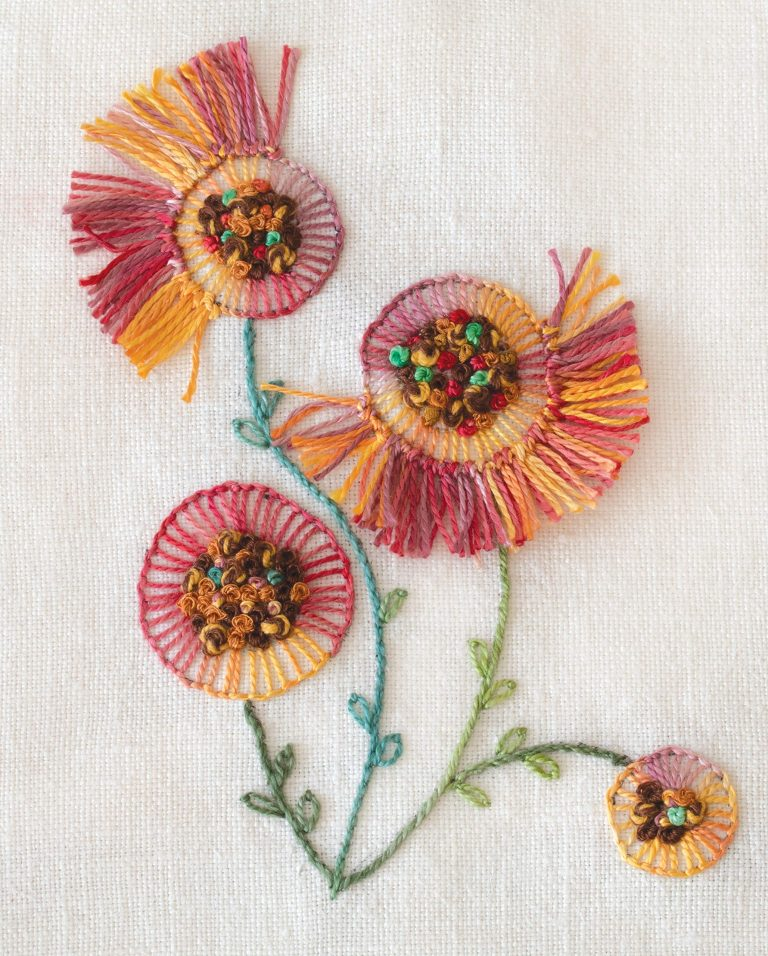 Creative Stitches for Contemporary Embroidery inside design