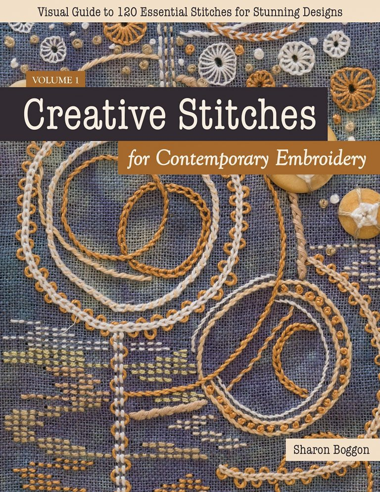 Creative Stitches for Contemporary Embroidery front cover