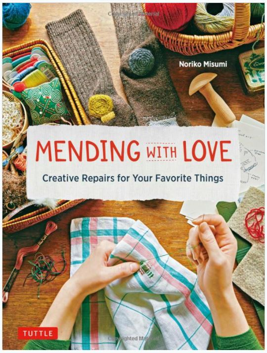 Mending with Love front cover