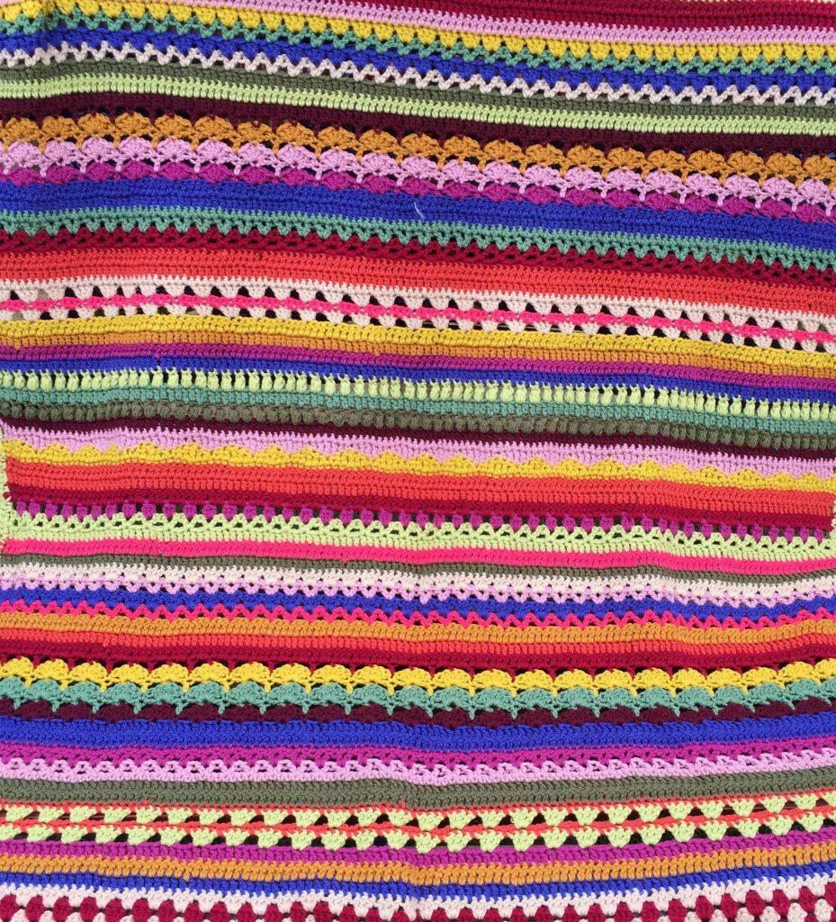 Crcoheted Blanket by Amanda Godden Crochet graduate