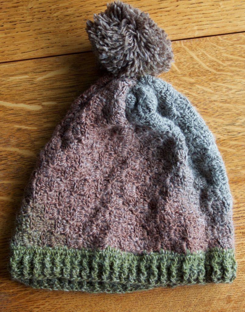 Crochet hat assessment piece.