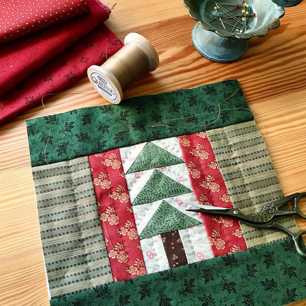Christmas quilts by Kathleen Tracy