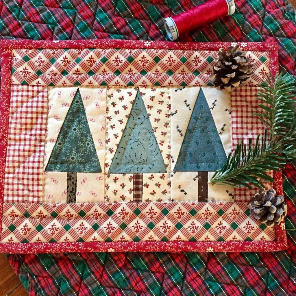 Christmas Craft quilt by Kathleen Tracy