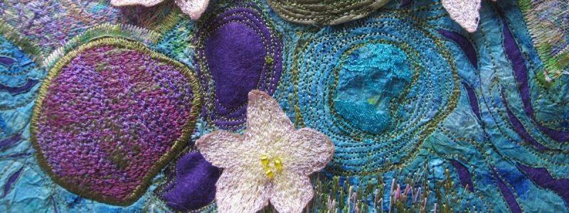 Graduate Story: Helen Plummer – Machine Embroidery