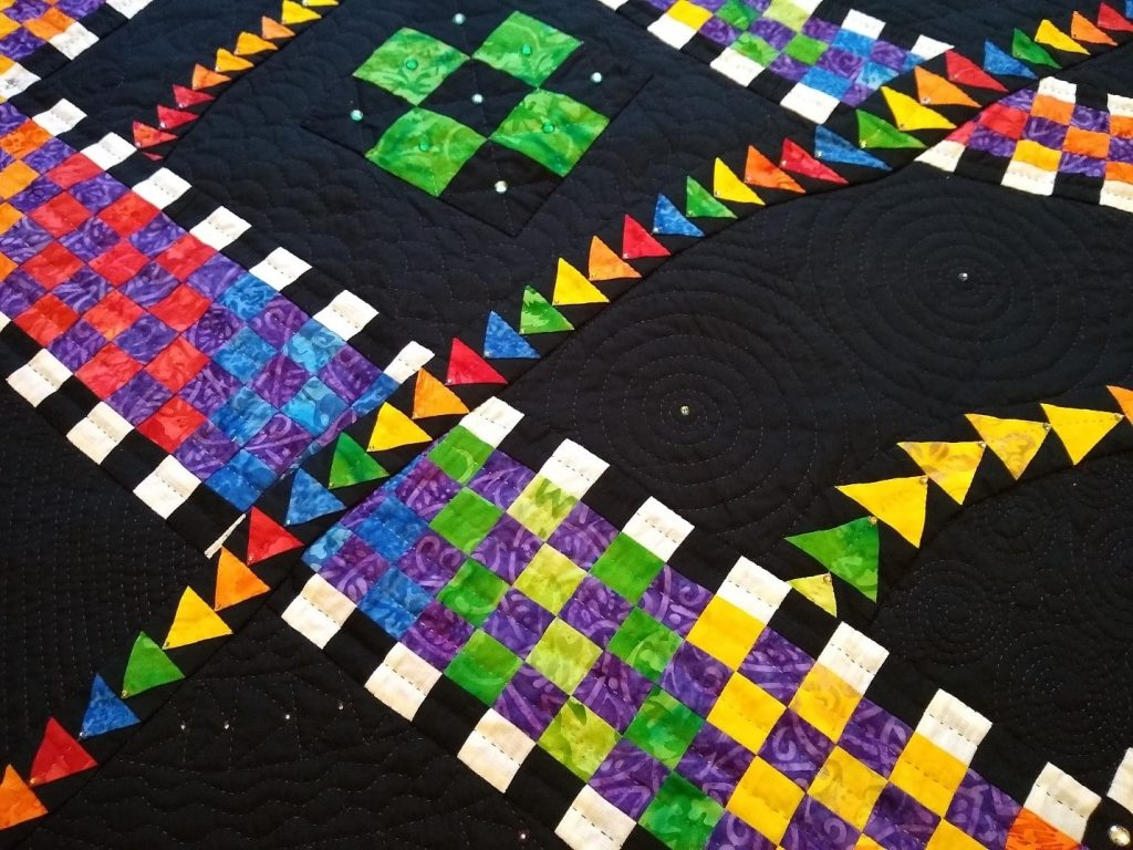 A Sample by Patchwork and Quilting tutor Mistianne Guzman