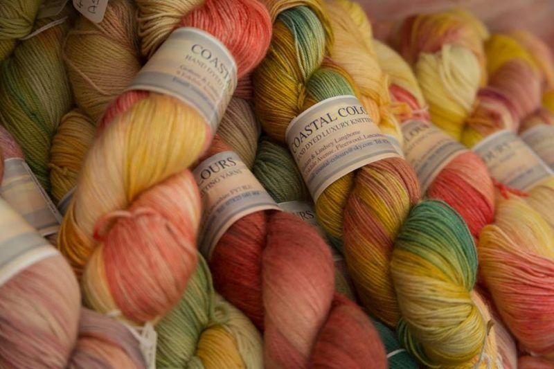 Coastal Colours – Hand Dyed Yarn