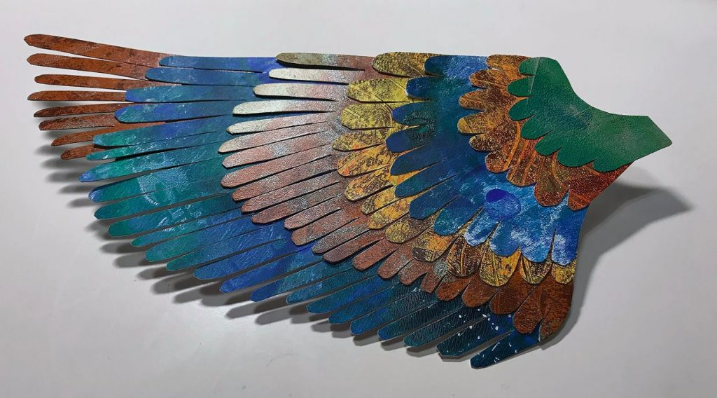 Wing Printed by Annegret Fauser