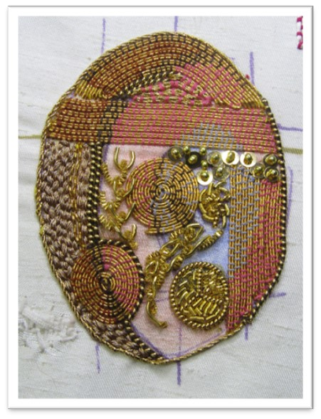 Hand Embroidery design by Jacqui Davidson