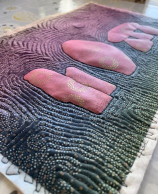 Textiles sample by Claire Eichorn
