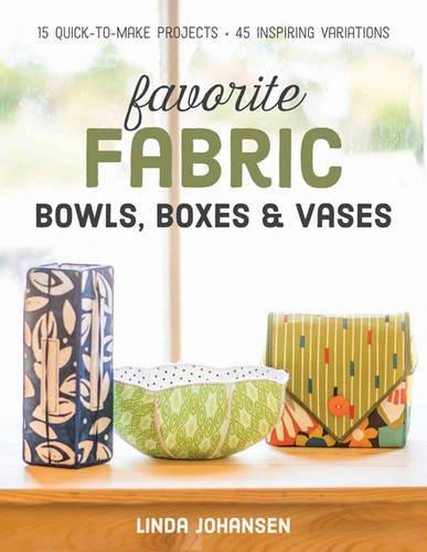 Favorite Fabric Bowls by Lind Johansen