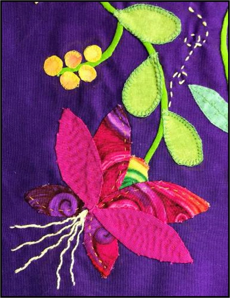 Patchwork and Quilting Sample by Elaine Levy