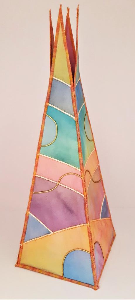 3D patchwork concept, Stephanie Kirkham