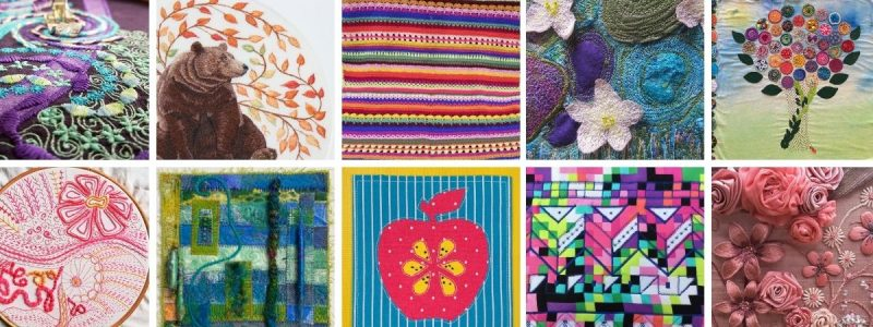 Sew Be It! What is the School of Stitched Textiles
