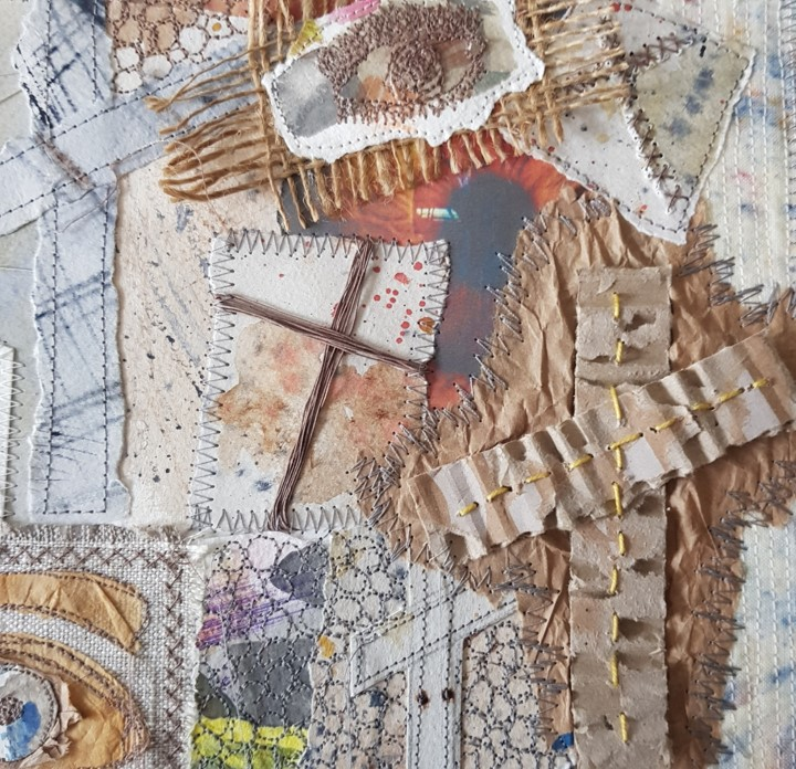 Textiles Sample by Lynda Scoulding