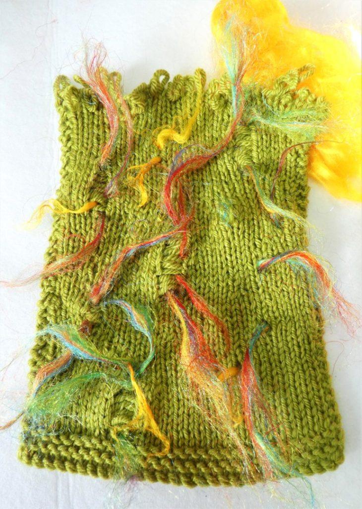Knitted piece, Fiona McFarlane