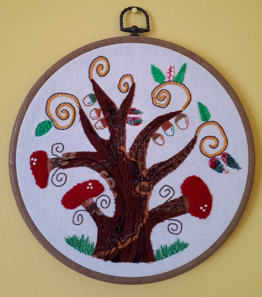 Hand Embroidery by Catherine Bottoms
