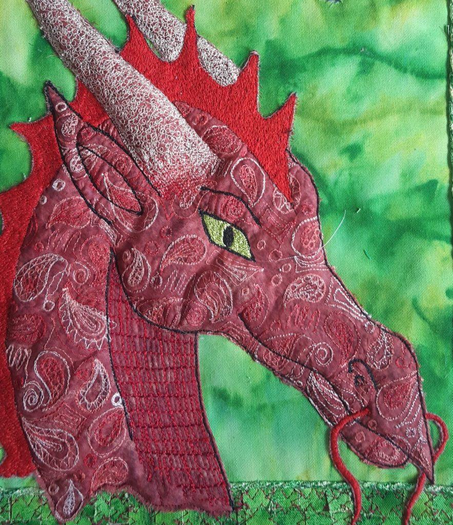 Machine Embroidery work by Hayley Semper