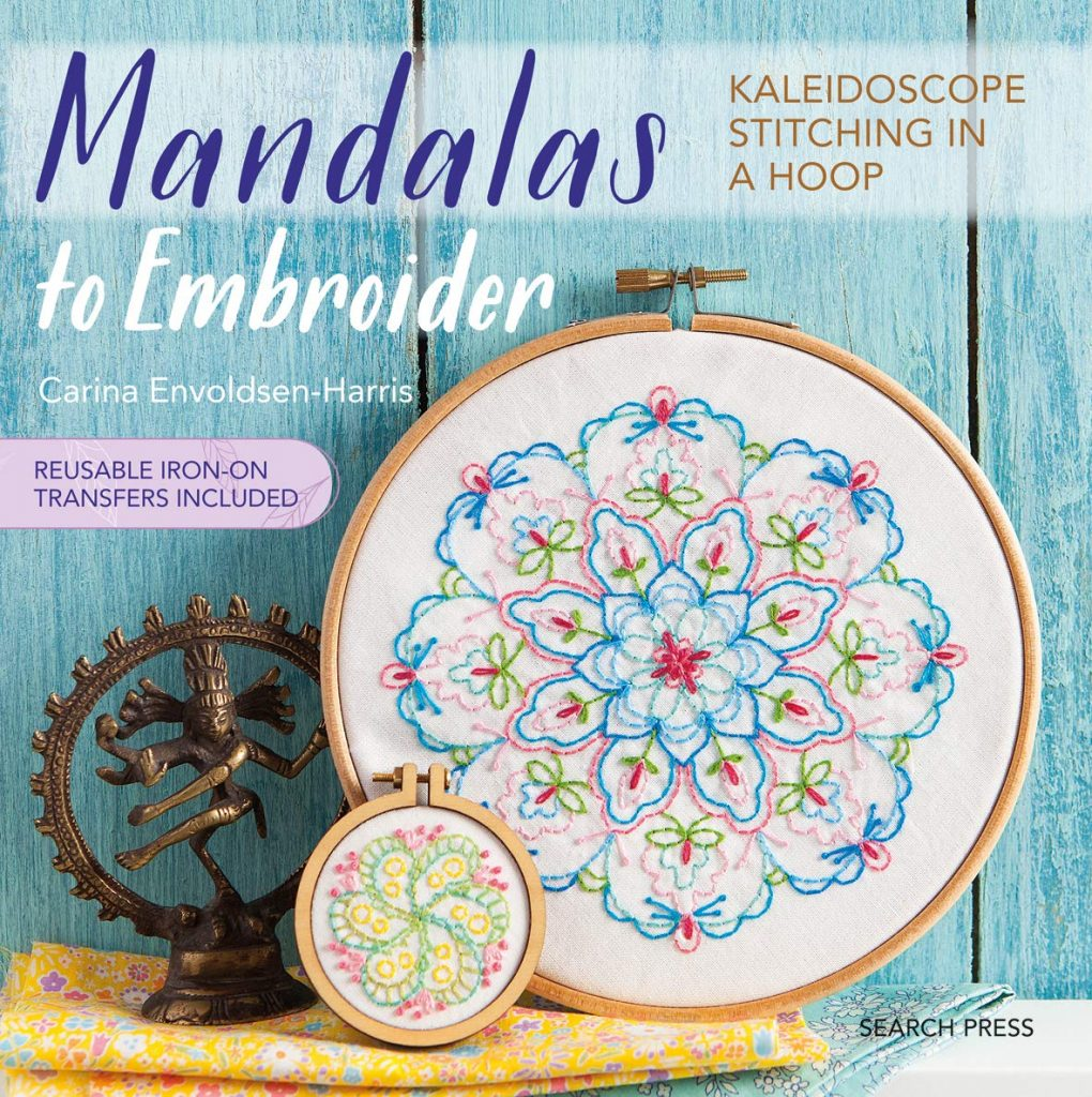 Mandalas to Embroidery front cover