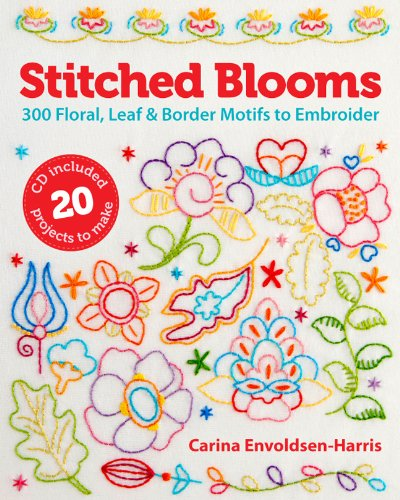 Stitched Blooms front cover