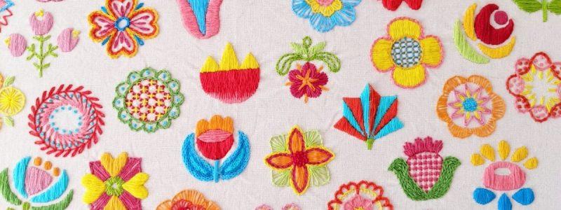 Happy Embroidery: Carina Envoldsen-Harris