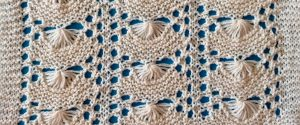 Knitting sample by Patricia McCarthy