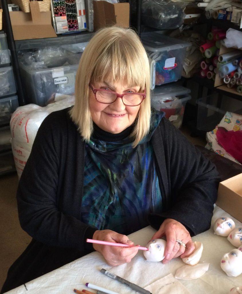 Jan Horrox Cloth Doll Artist