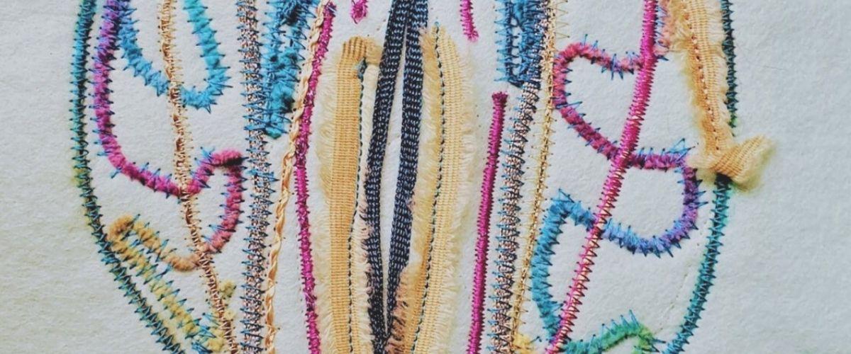 Graduate Story: Lynda Boardman – Machine Embroidery
