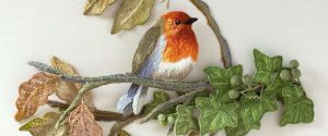 Interview with Kay Dennis Stumpwork Embroidery Artist.