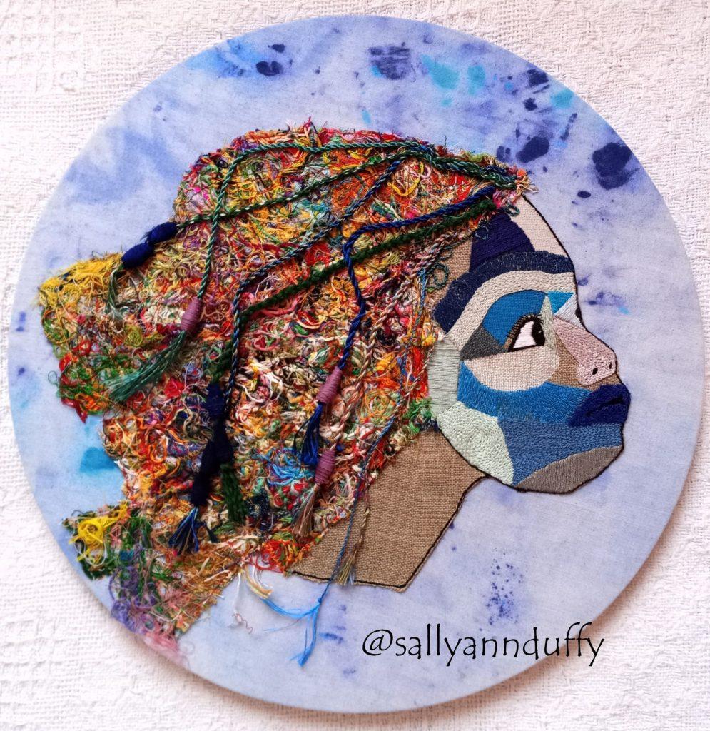Sally-Ann Duffy final hand embroidery assessment piece