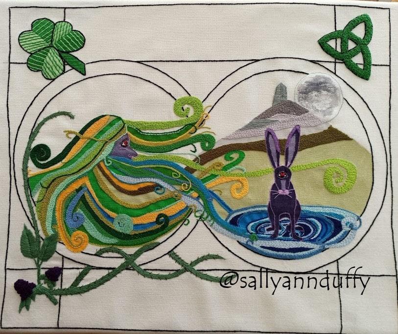 Cailleach of Lough an Lea by Sally-Ann Duffy