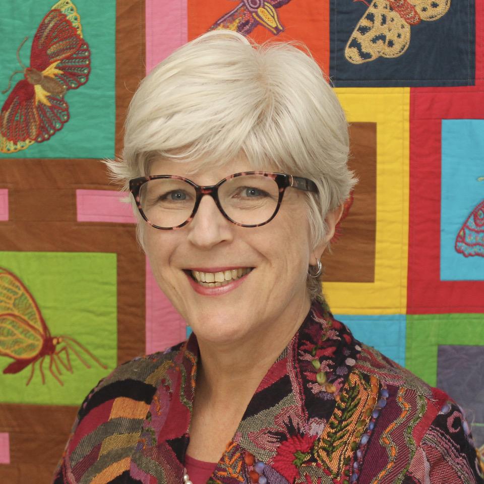 Catherine Redford, fibre artist