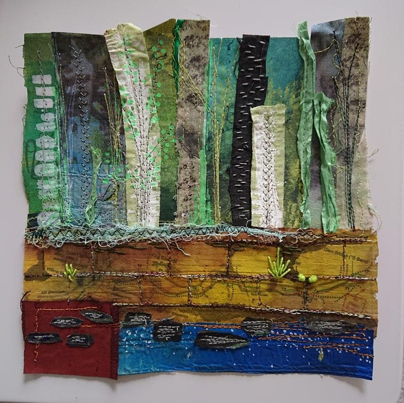 Bursary Finalist, Claire Pearson textiles