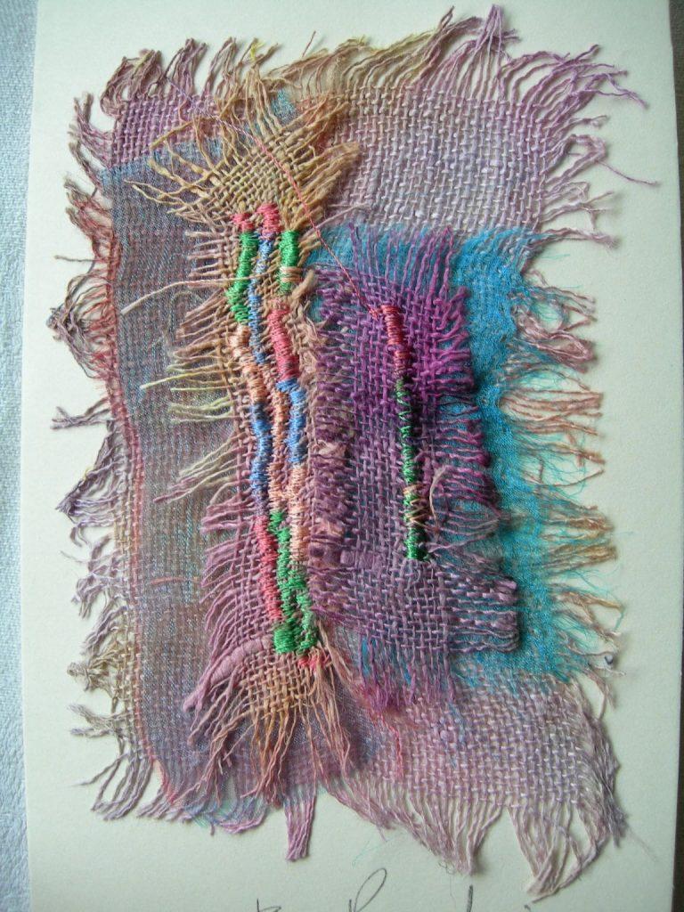 Bursary finalist, Janis Brodie, Textiles