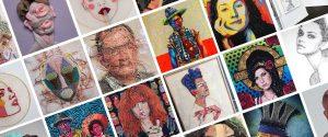 10 Textile Portrait Artists You HAVE to Follow