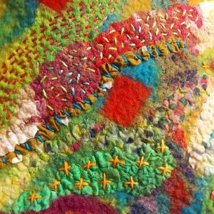 Elizabeth Armstrong is a contemporary felt artist you have to follow