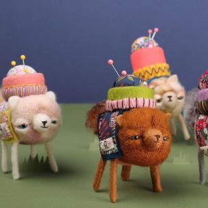 Cat Rabbit is one of our top 10 Contemporary Felt artists you have to follow
