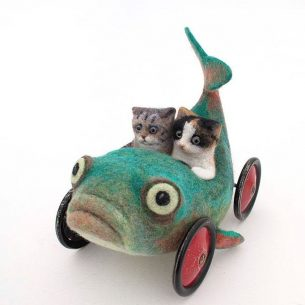 Lindsey Thomas, Contemporary felt artists you have to follow
