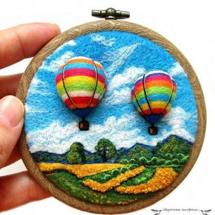 Wools Symphony is one of our top ten contemporary felt artists you have to follow